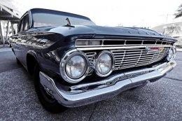 schwarz klassische Auto